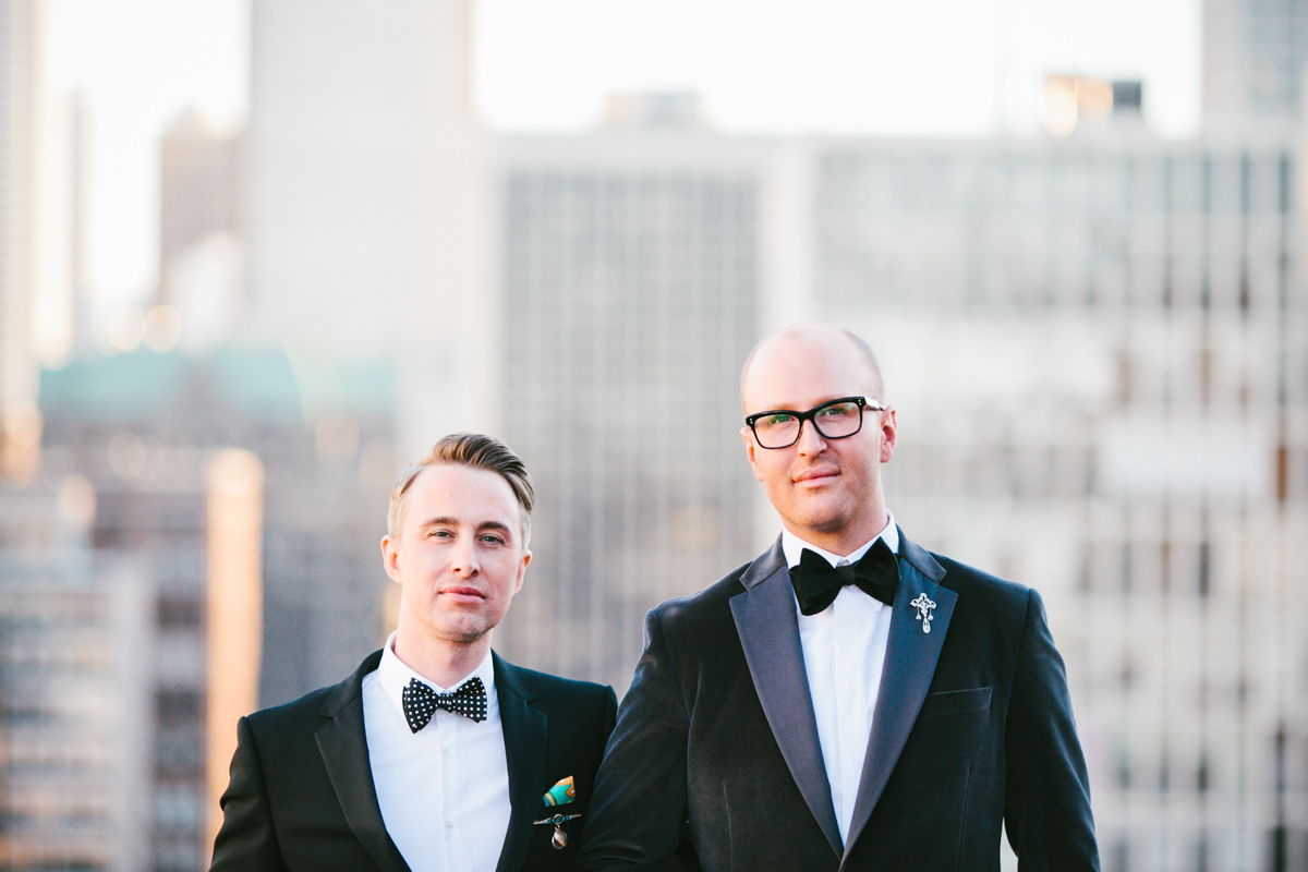 Public Hotel Chicago Wedding Photos