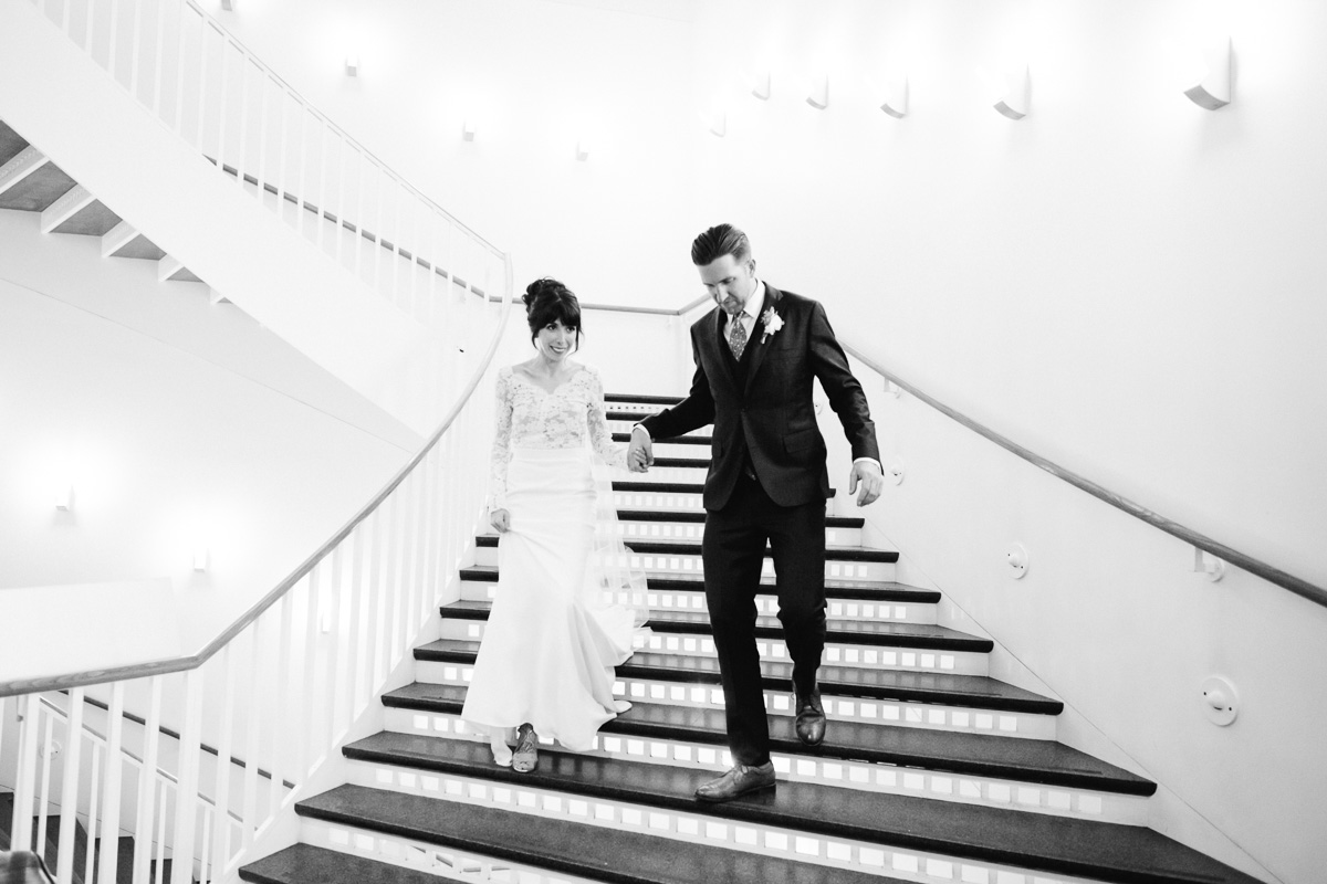 MCA Chicago Museum of Contemporary Art Wedding Photos