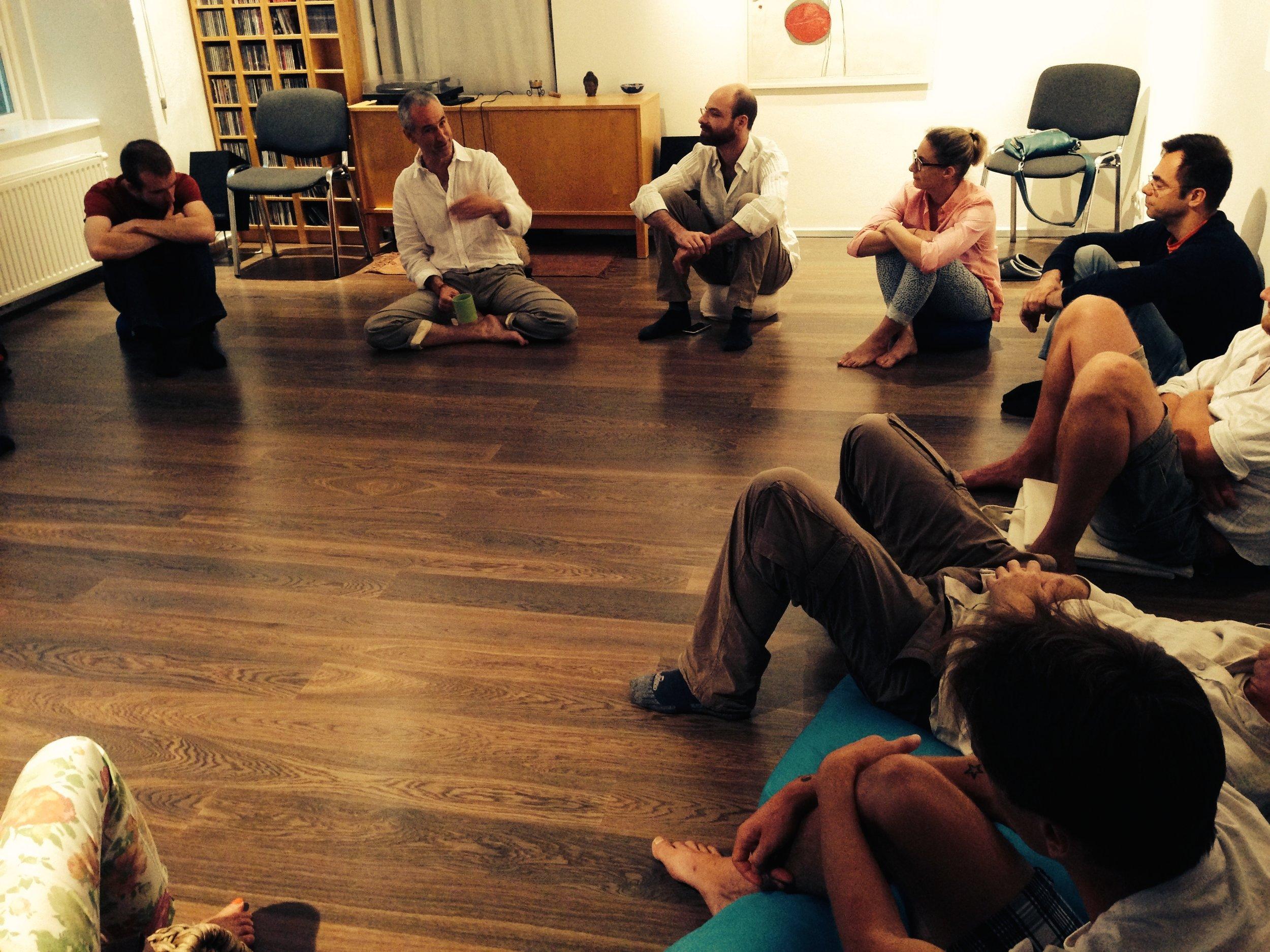 Spiritual Embodiment workshop, Vienna, Austria