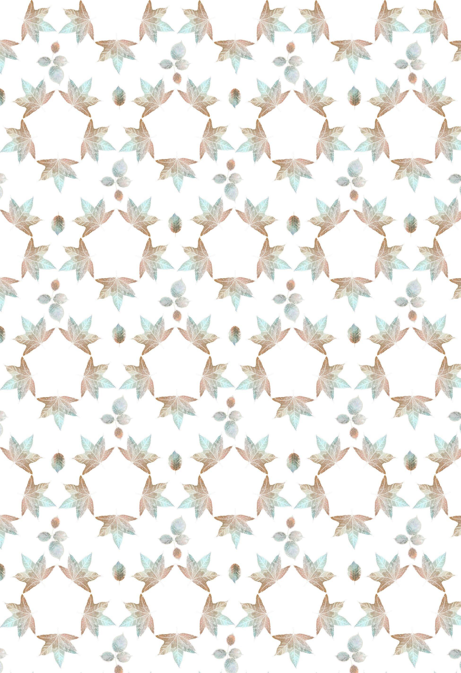 Leaf Hex pattern mint latte.jpg