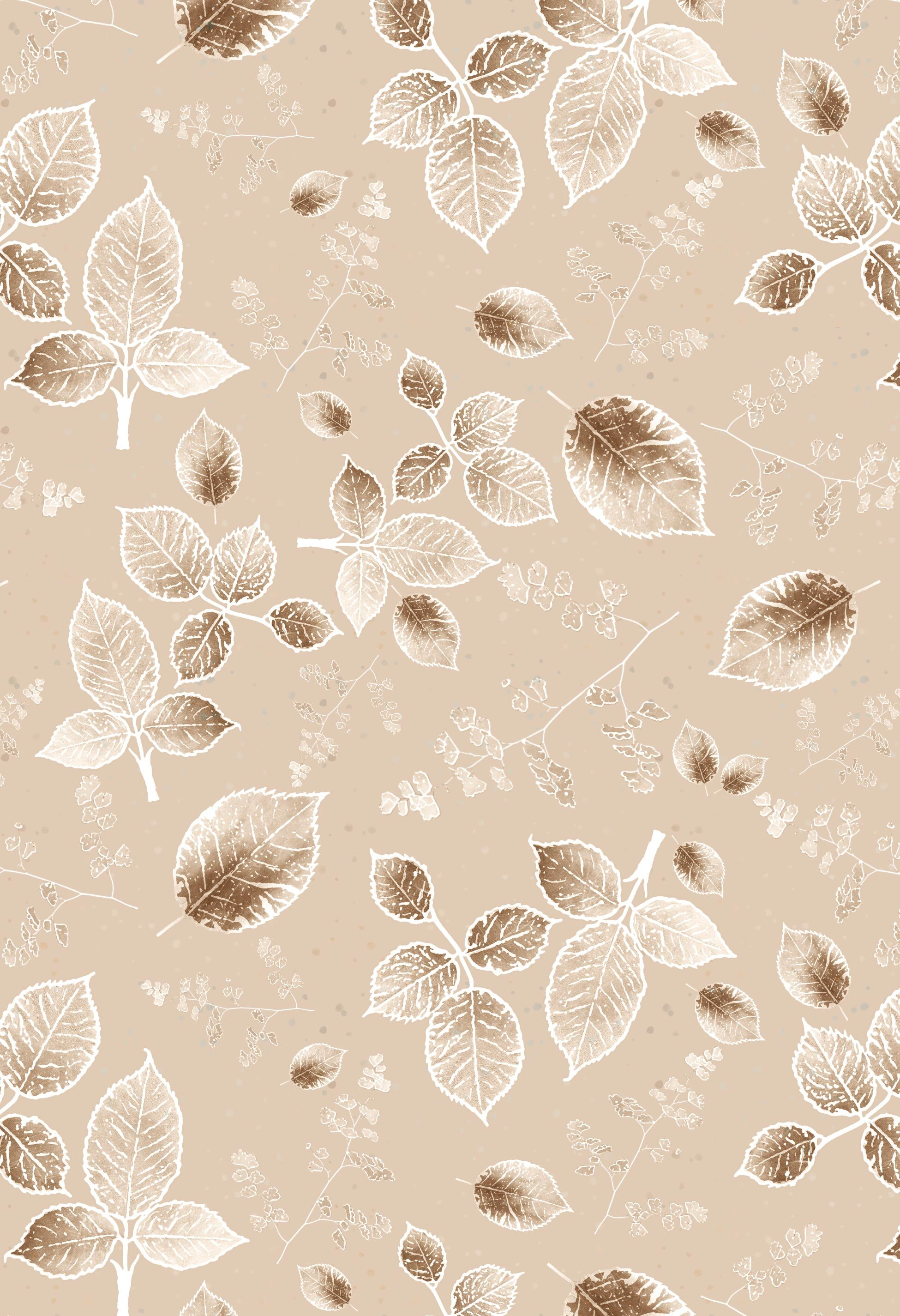 scattered rose monotone background latte beige2.jpg