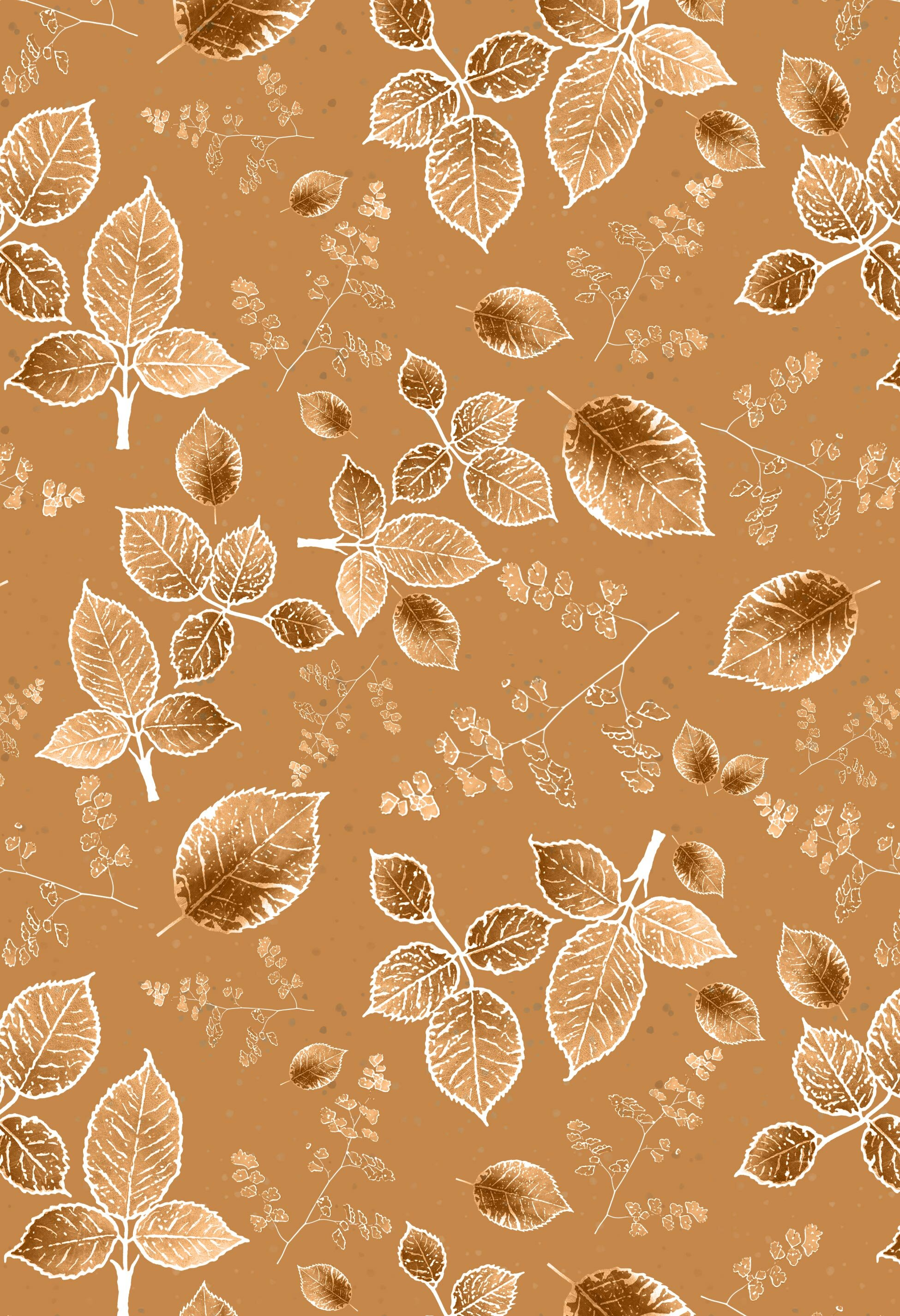scattered rose monotone background autumn gold.jpg