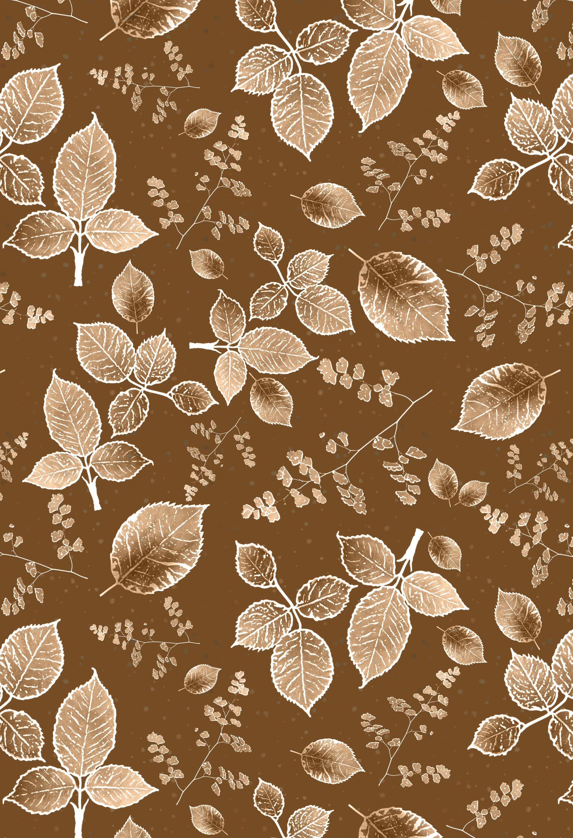 scattered rose monotone background autumn rust.jpg