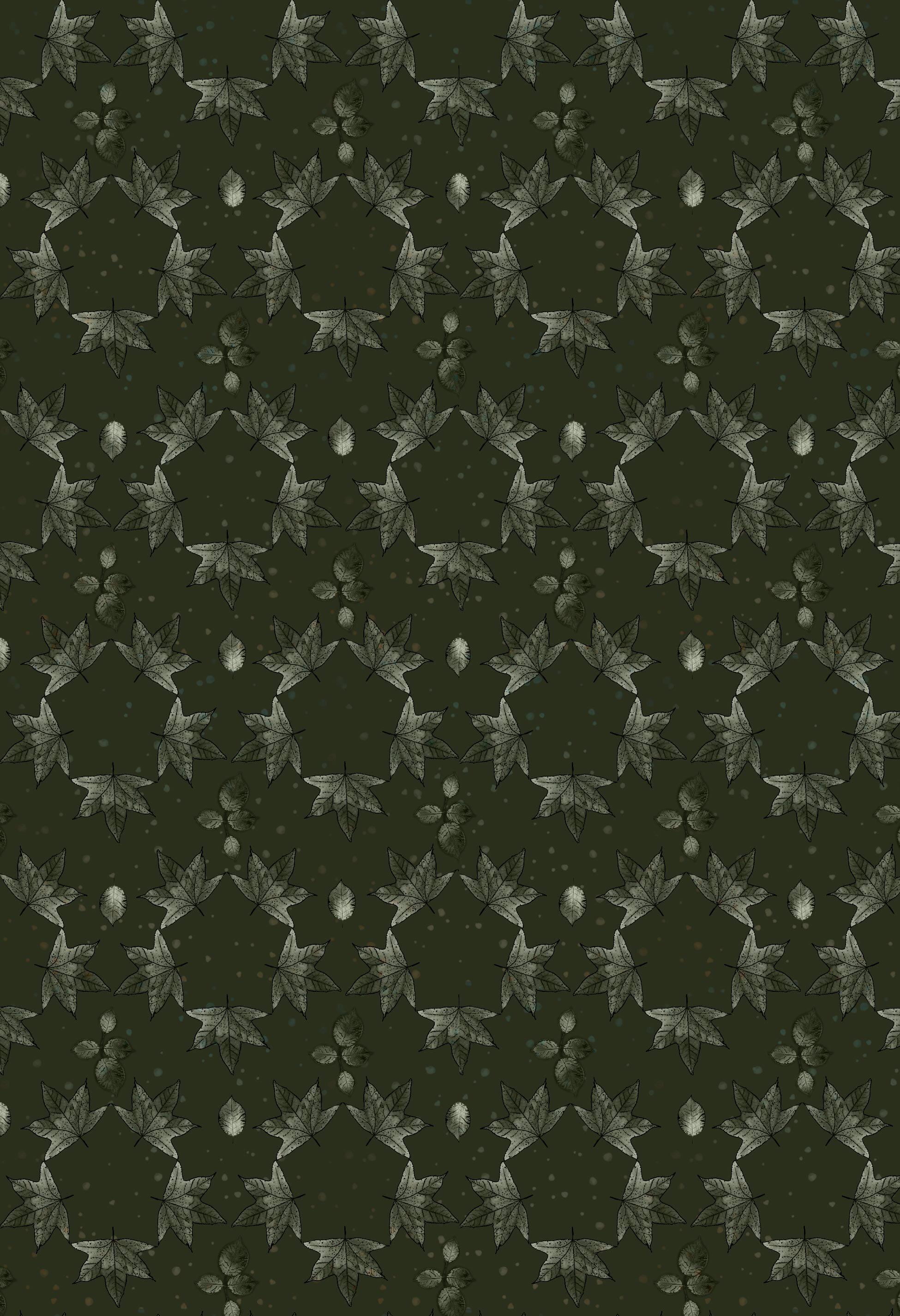 Leaf Hex pattern  autumn green.jpg
