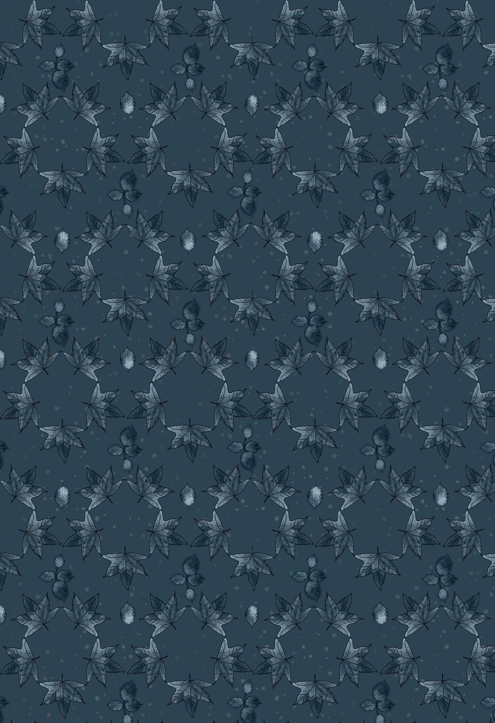 Leaf Hex pattern  autumn blue.jpg