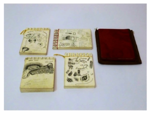 4 sketchbooks stolen (and recovered)
