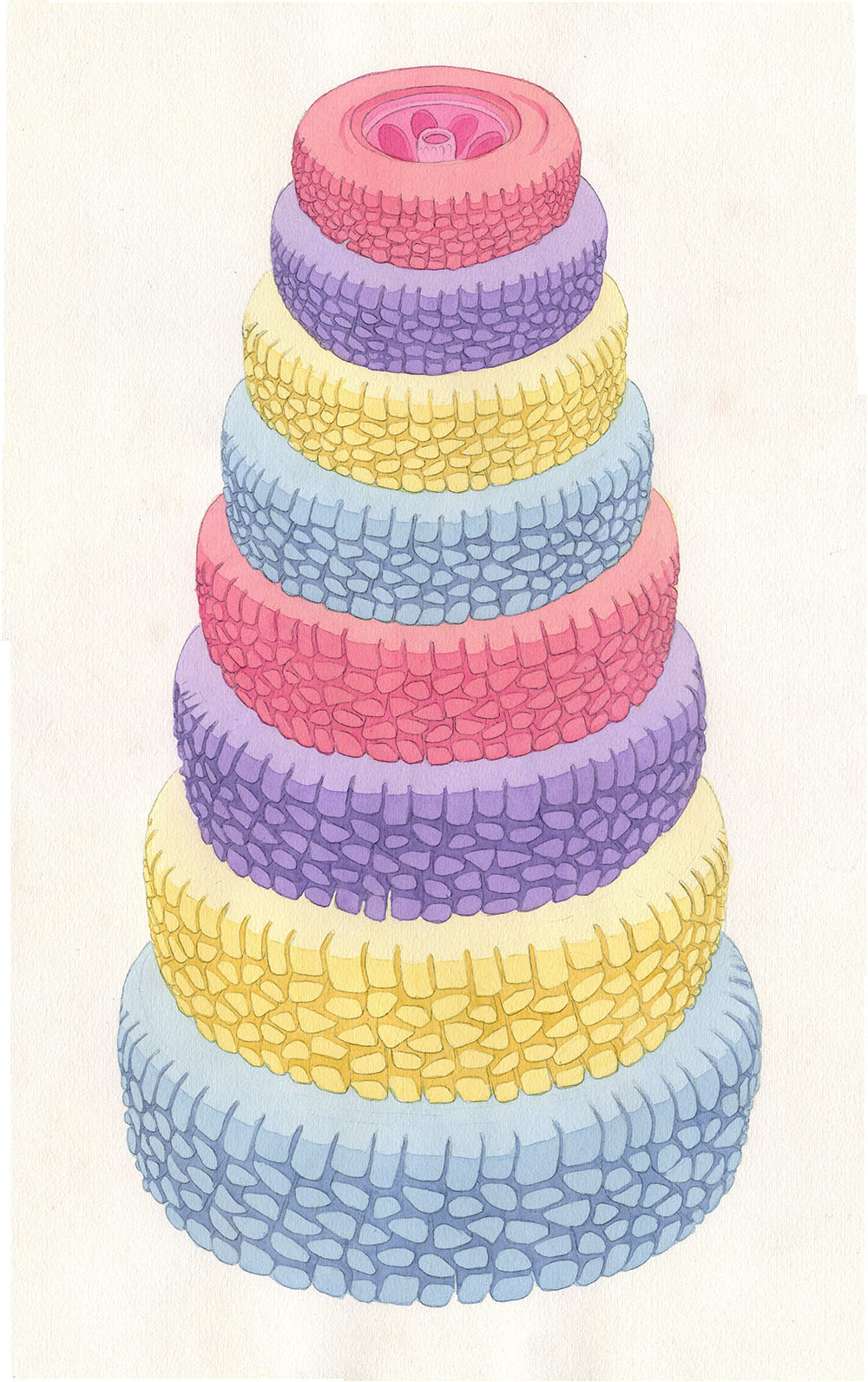 """2013 pencil and watercolor on paper 12"""" x 18"""""""