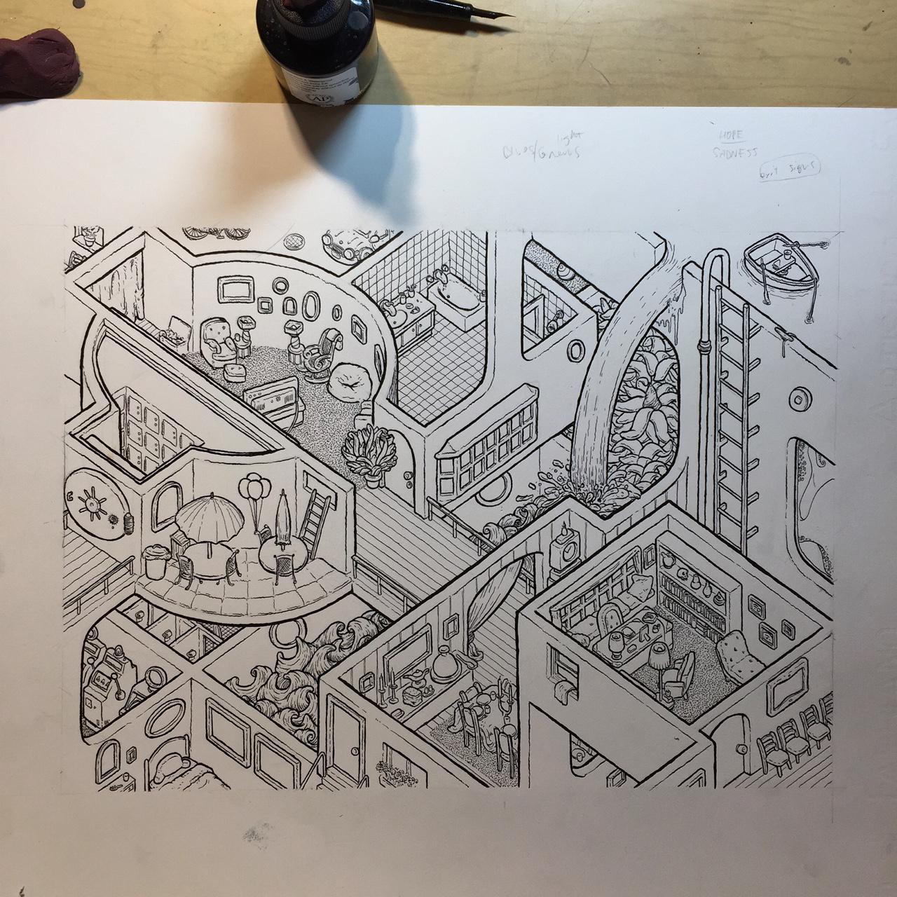 Shrink's Office (progress)