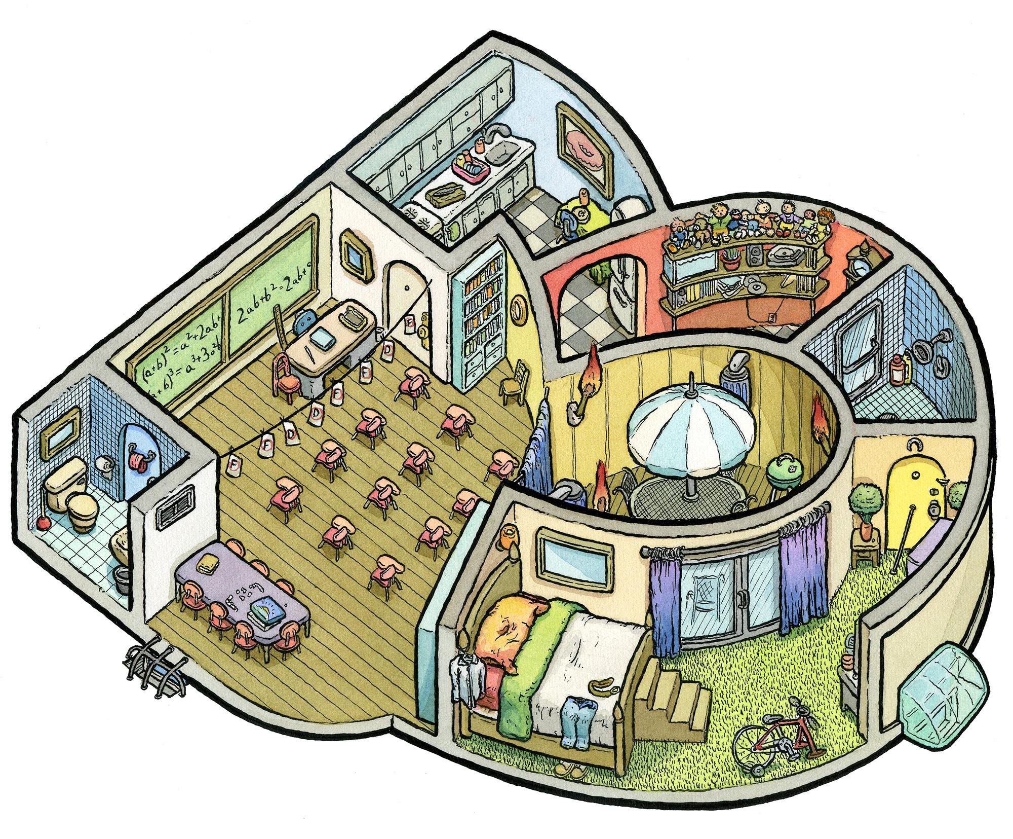 3: Mean Math Tutor Dwelling