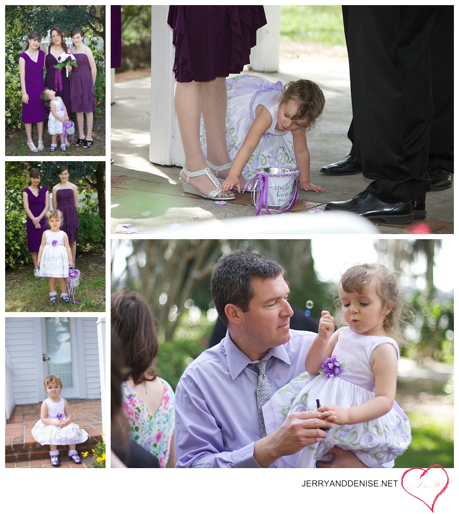 The little flower girl brought so much love and fun to the occasion.