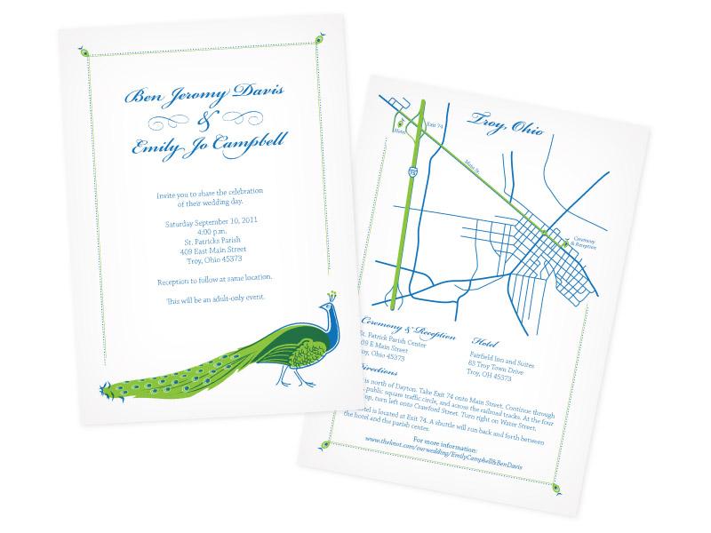 Ben & Emily's Wedding Invites