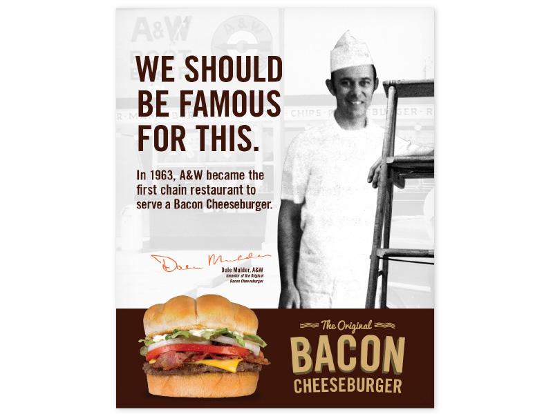 The Original Bacon Cheeseburger