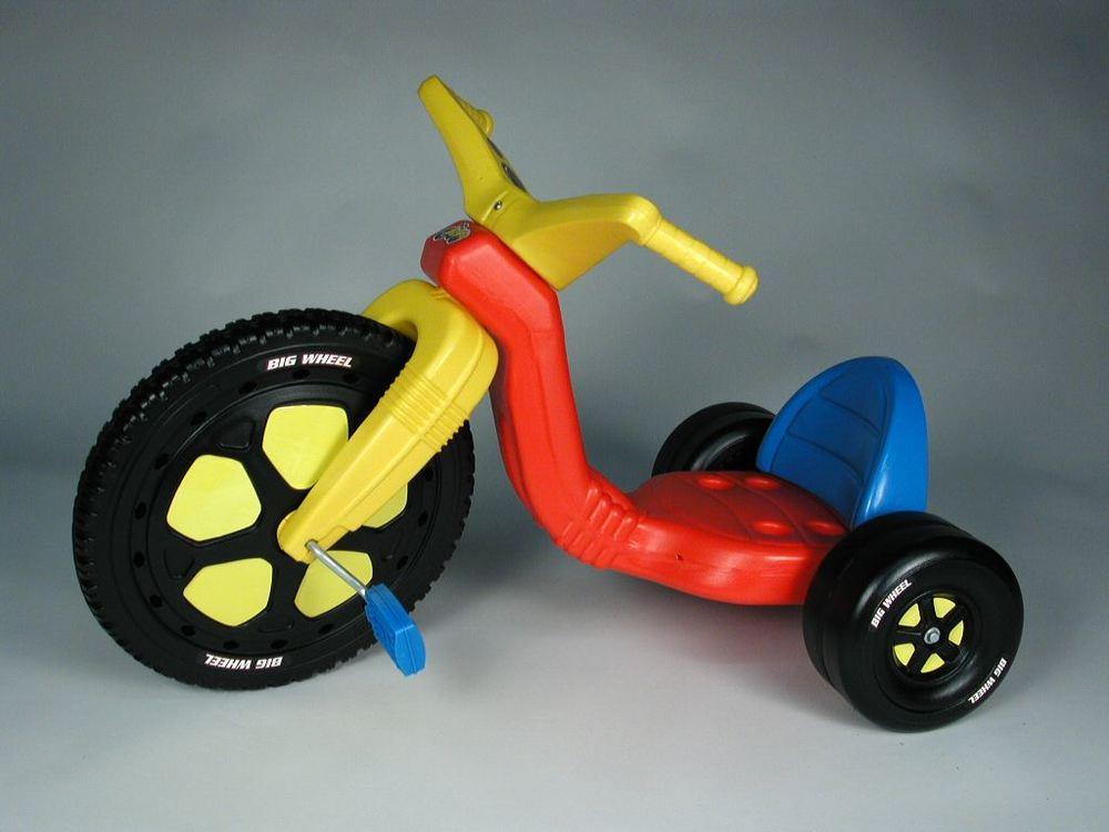 I had the Big Wheel ...