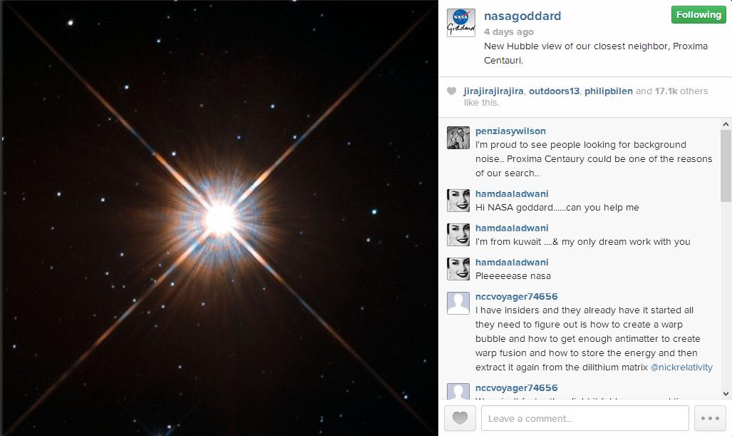 Photo via the NASA Goddard Space Flight Center