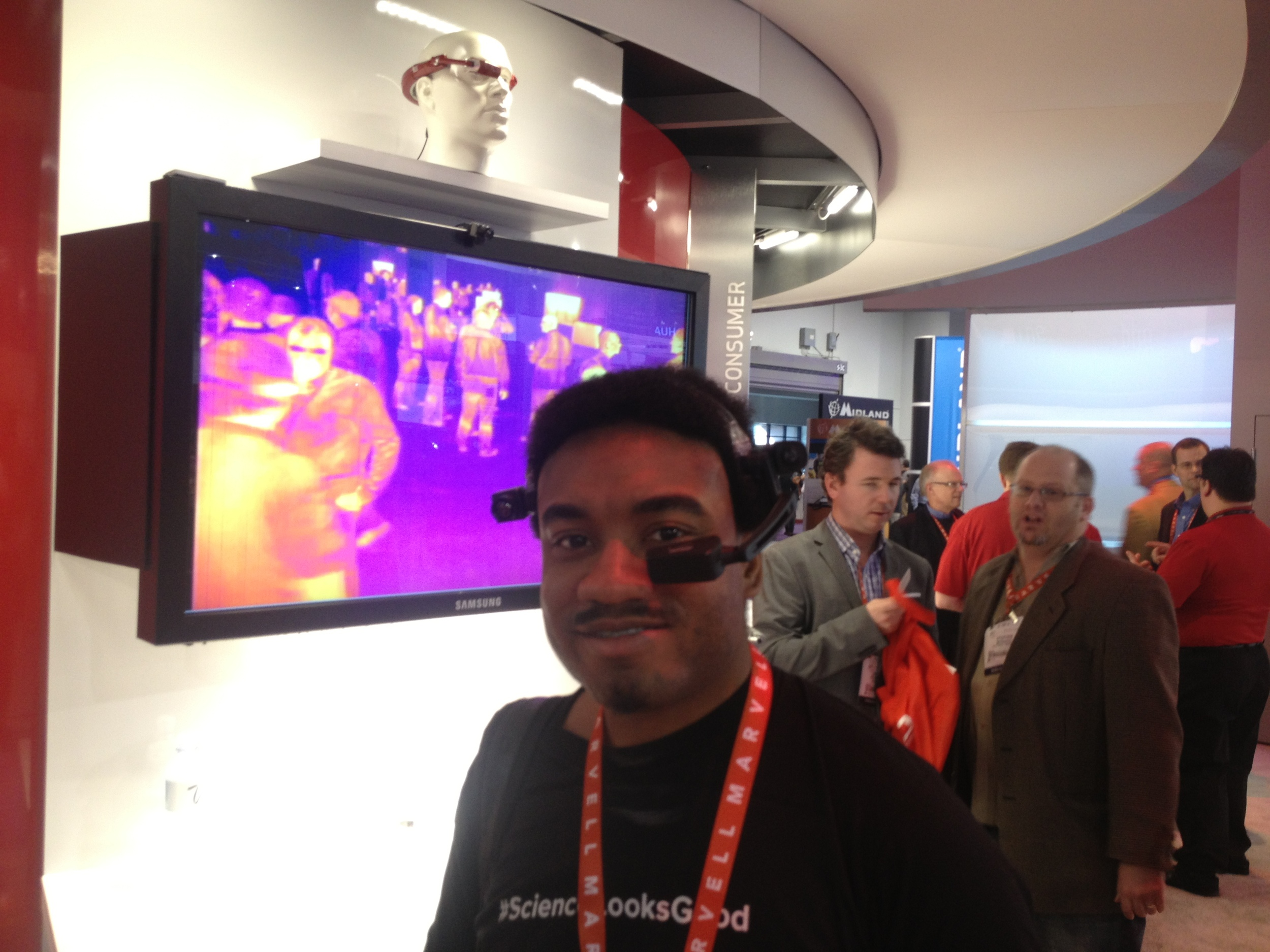 Me, at CES 2012