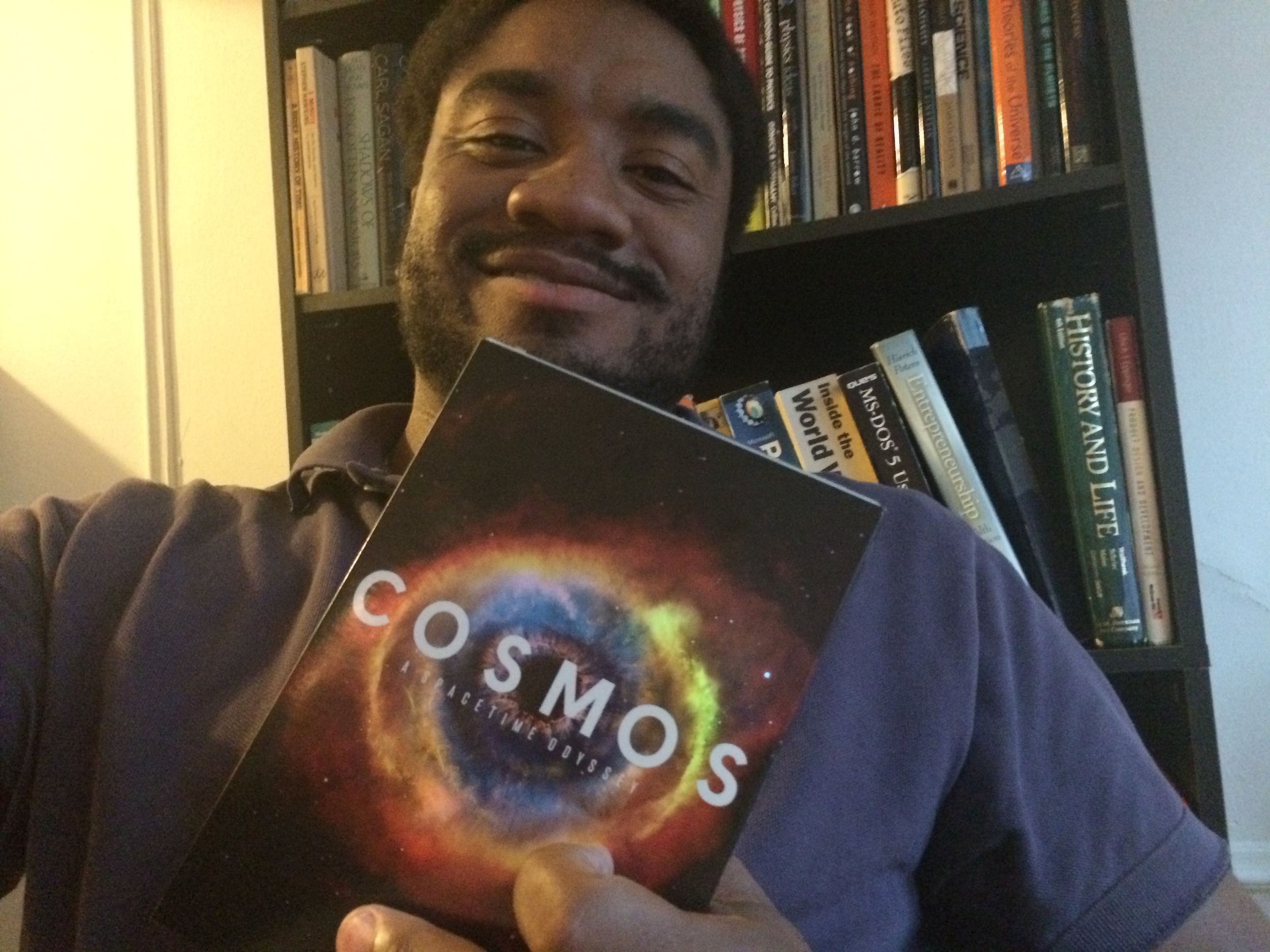 Cosmos was awesome, so I definitely had to get the DVD! Click on the pic to access my Cosmos posts!
