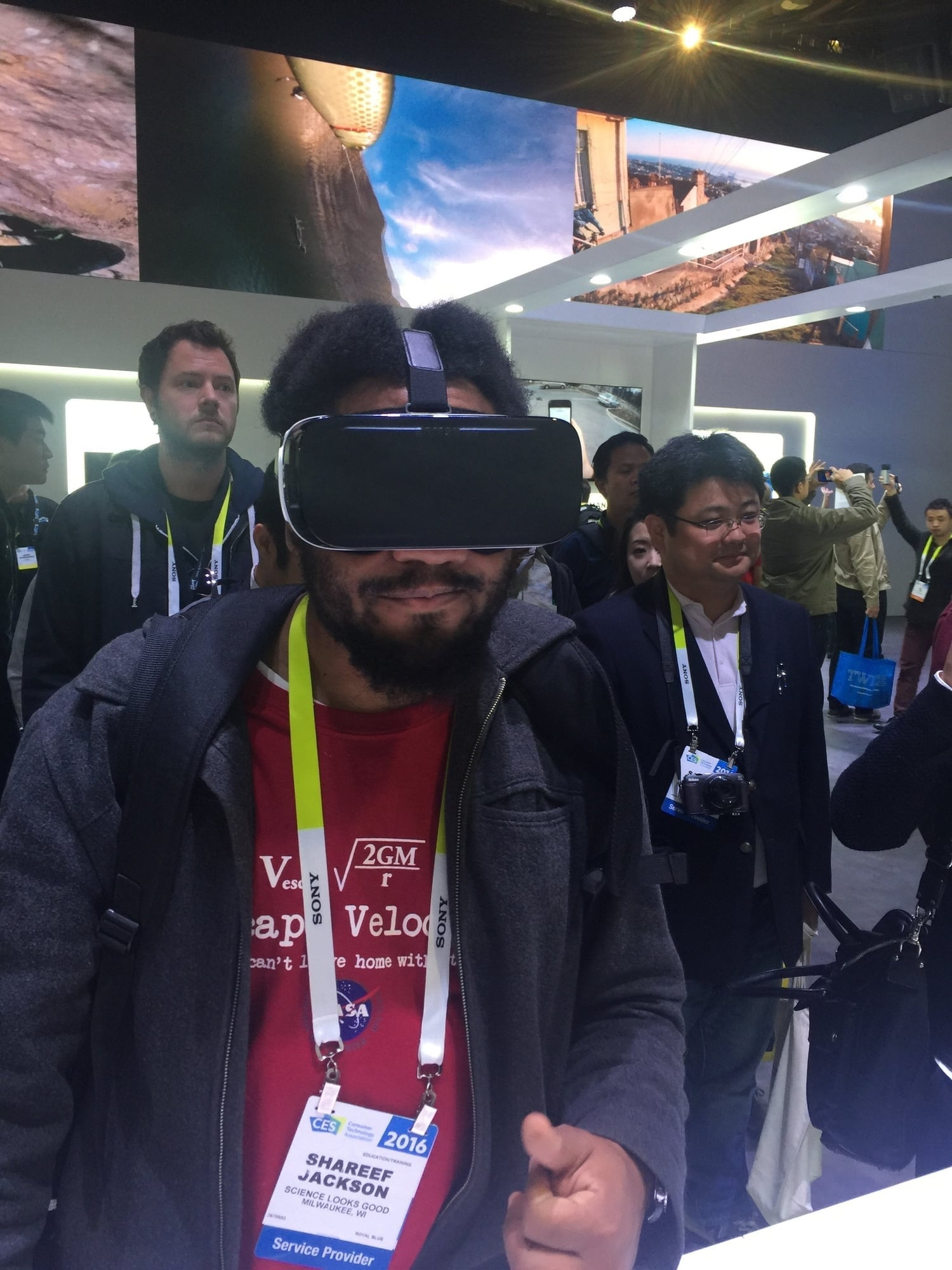 The Samsung Gear VR let's me surf ... Which is something I'd never do otherwise