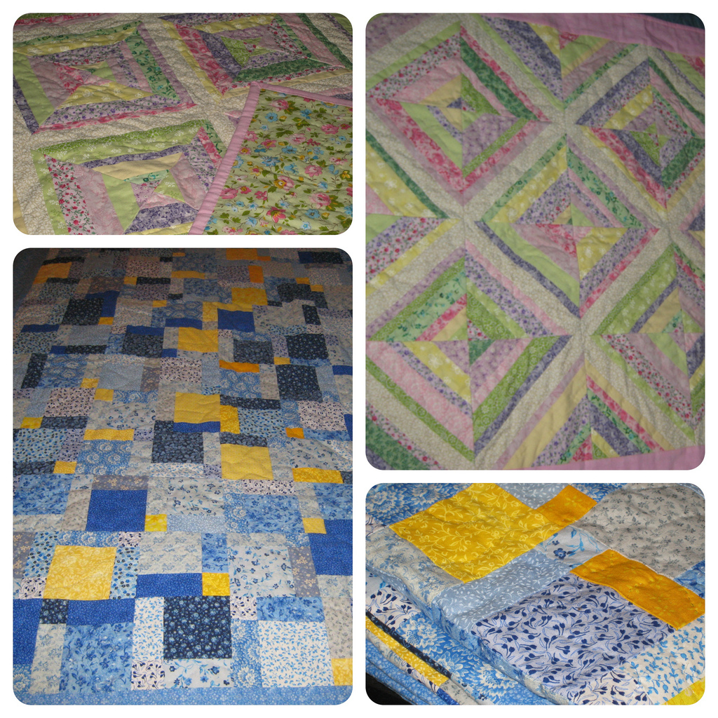 BABY & THROW SIZE QUILTS