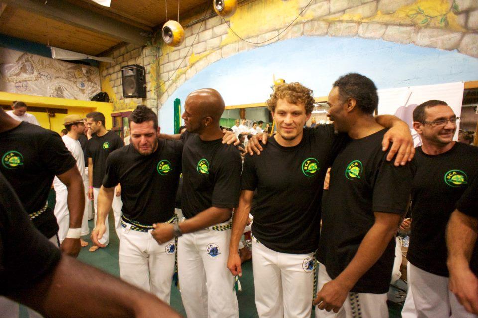 (from left to right) contramestres recruta, lagarta de fogo, maluco, enxu, mestre rã