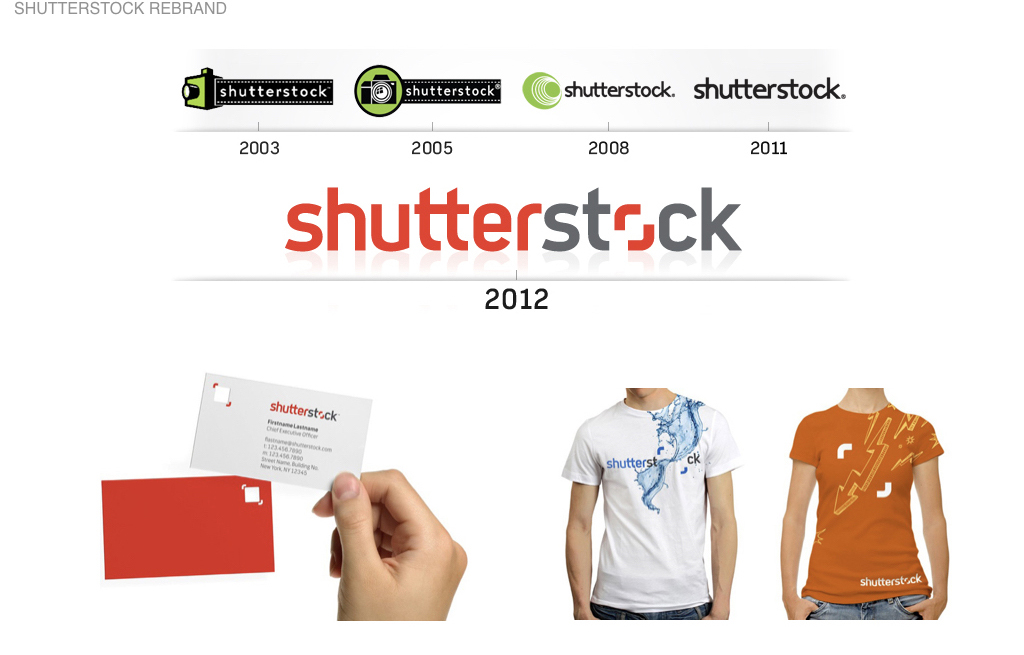 Role: Shutterstock / VP Creative   With an IPO on the horizon, Shutterstock needed a complete company rebrand from brand positioning to identity system and a new global marketing campaign. The rebrand was enthusiastically received both by Shutterstock customers and contributors and lauded in the branding industry.