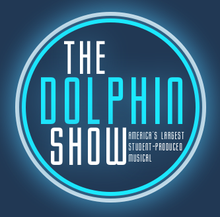 The Dolphin Show logo before it was redesigned by John Allman (2013) for the 70th Anniversary in 2012.