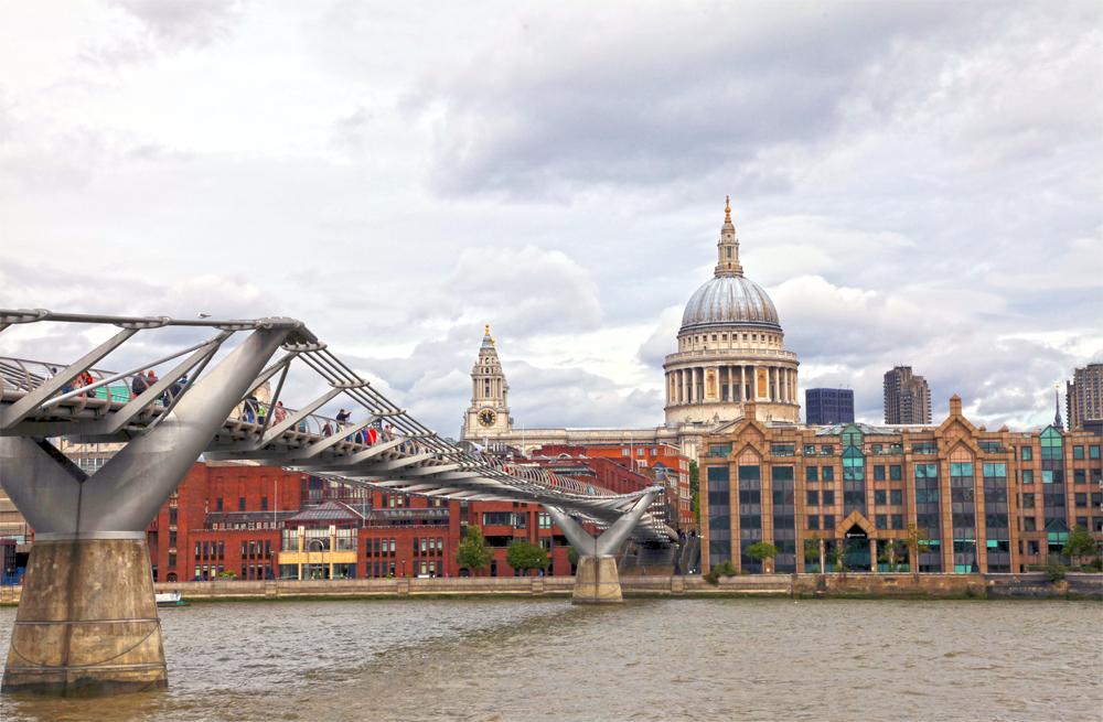 Modern Bridge in London