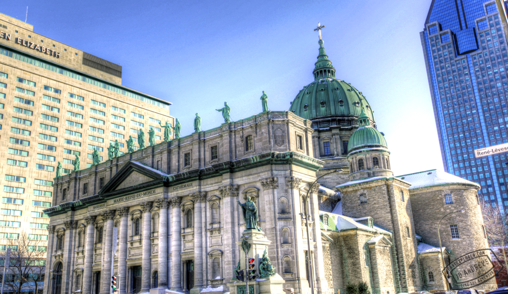 Beautiful Cathedral in Montreal Canada