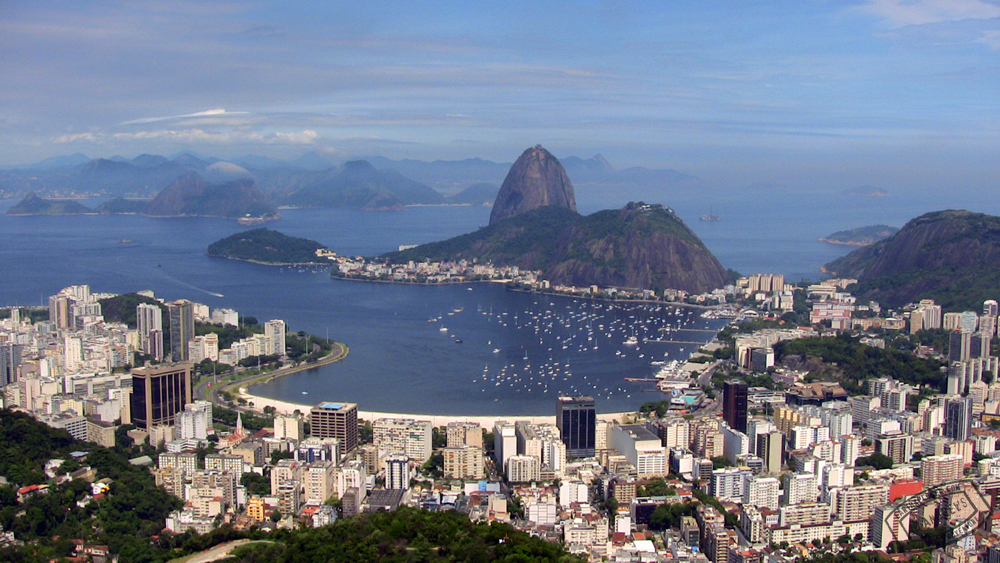 A Great view of Sugarloaf Mountain in Rio!