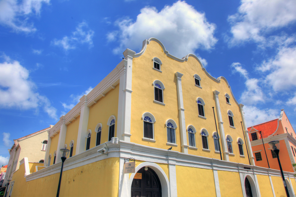 The Mikvé Israel-Emanuel Synagogue in Willemstad, Curaçao, is one of the oldest synagogues in the Americas.