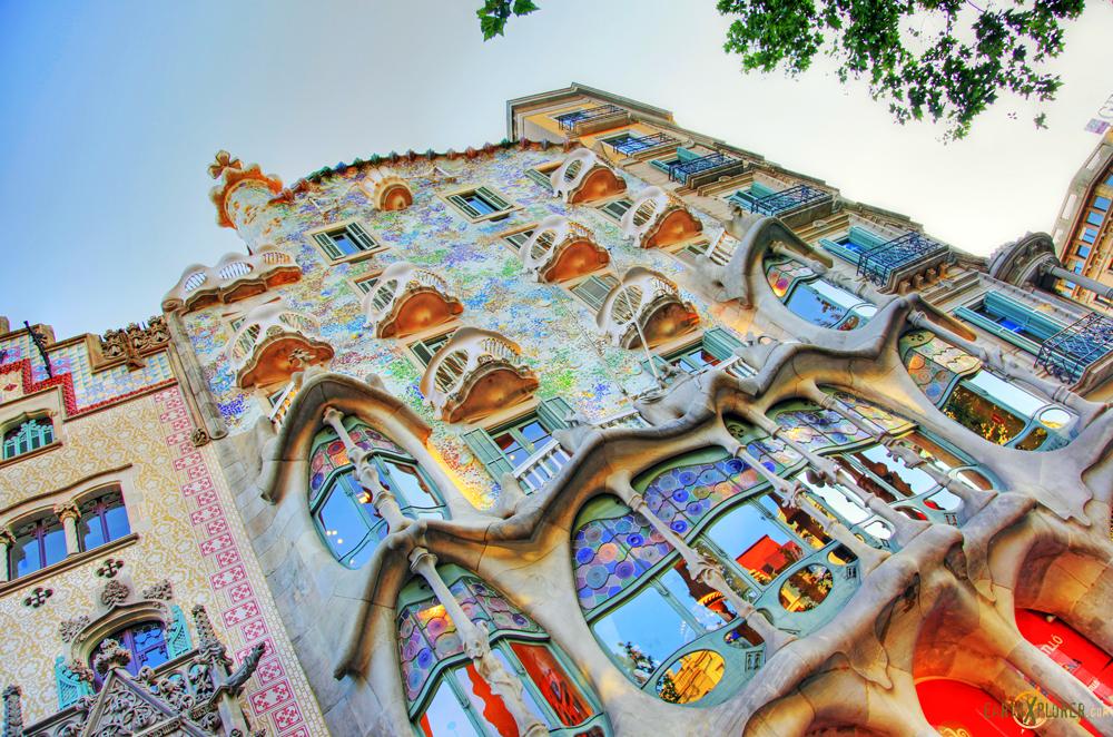 The Casa Batlló - Barcelona Spain