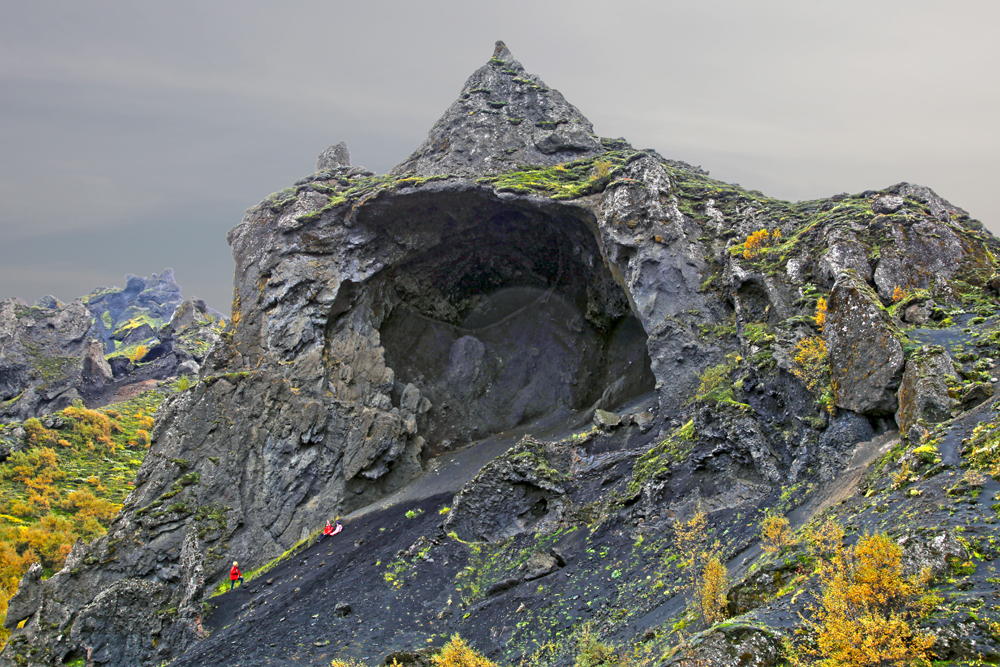 Lava Created Formation