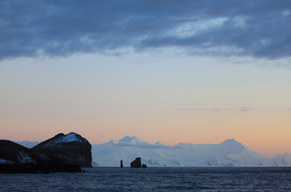 Early Morning in Antarctica