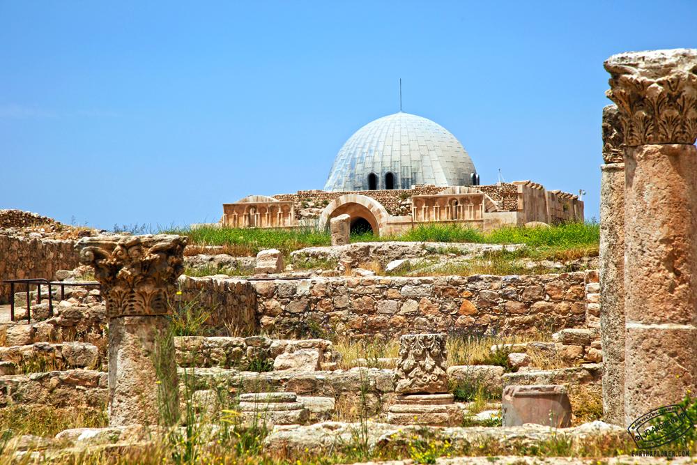 The Citadel in Amman Jordan