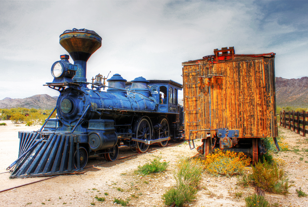 Old Tucson Train