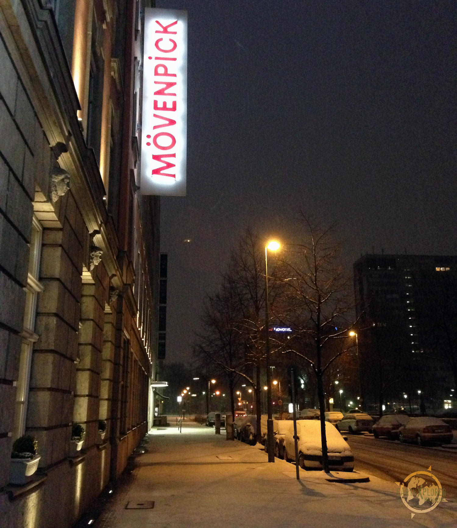 The snow starts to fall in Berlin