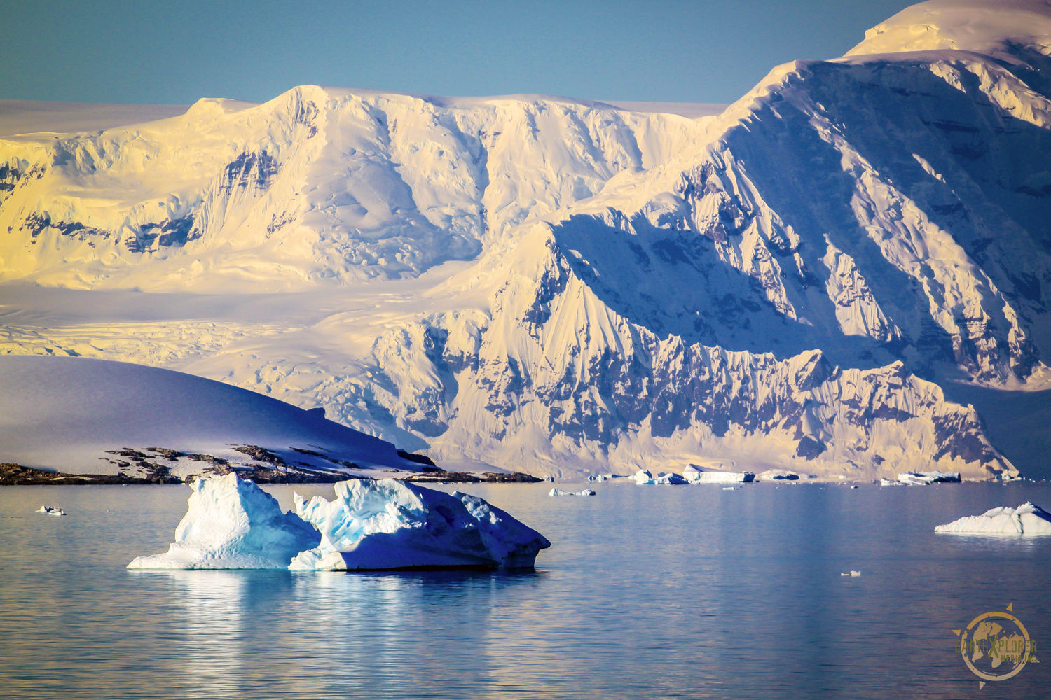 Beautiful mountains in Antarctica by JD Andrews.jpg
