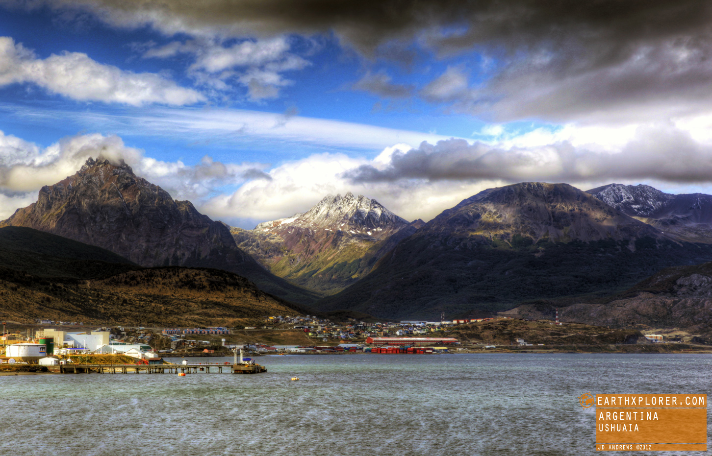 Ushuaia is the capital of Provincia de Tierra del Fuego and is regarded as the southernmost city in the world.