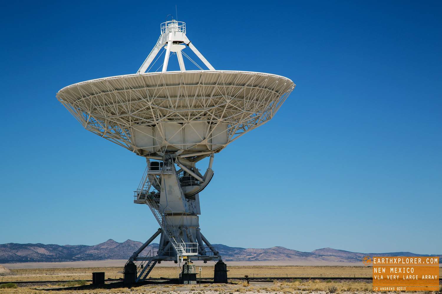One of the world's premier astronomical radio observatories.