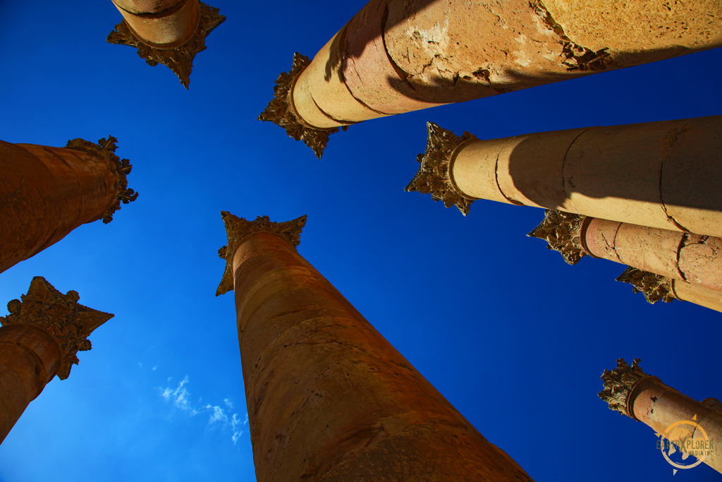 Pillars in Gerasa Jordan.jpg