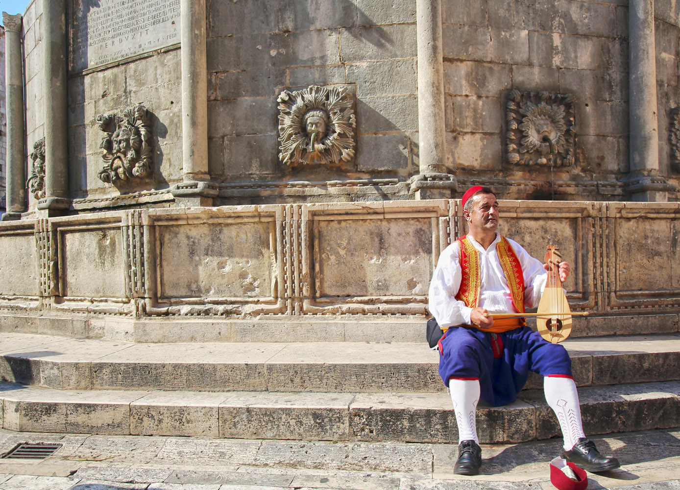 The tambura is a traditional stringed instrument and has become one of the symbols of Croatian musical identity.