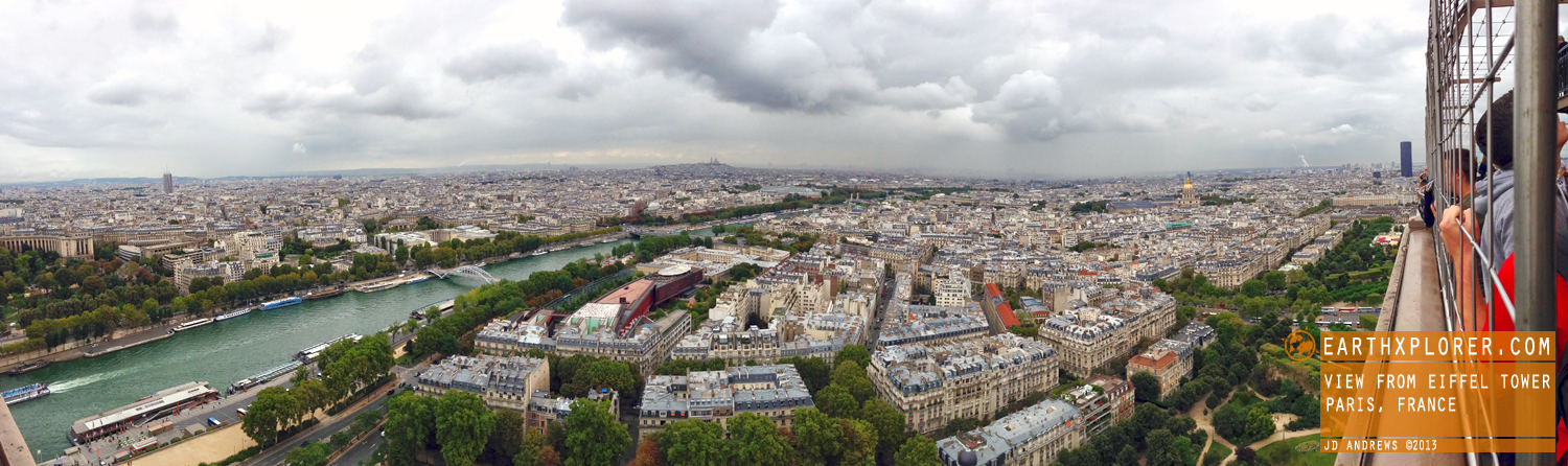 The Eiffel Tower is an iron lattice tower that's located on the Champ de Mars in the beautiful city of Paris France.