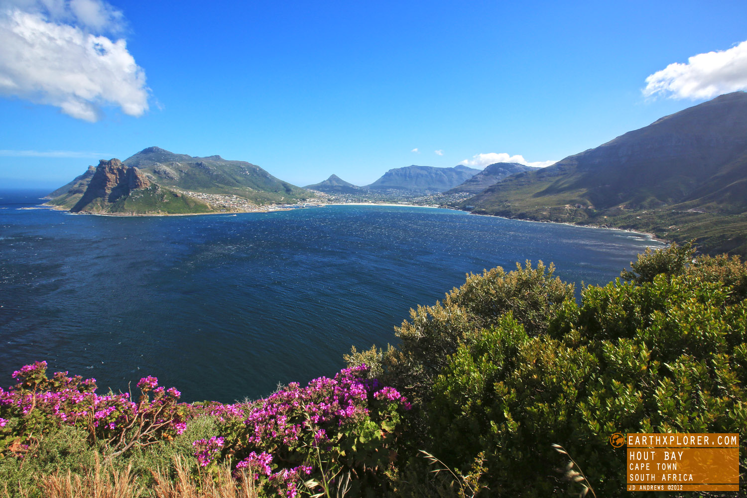 Hout Bay is called the Heart of the Cape. Halfway between Cape Town and Cape Point. Named by Dutch explorers, literally translated means Wood Bay.