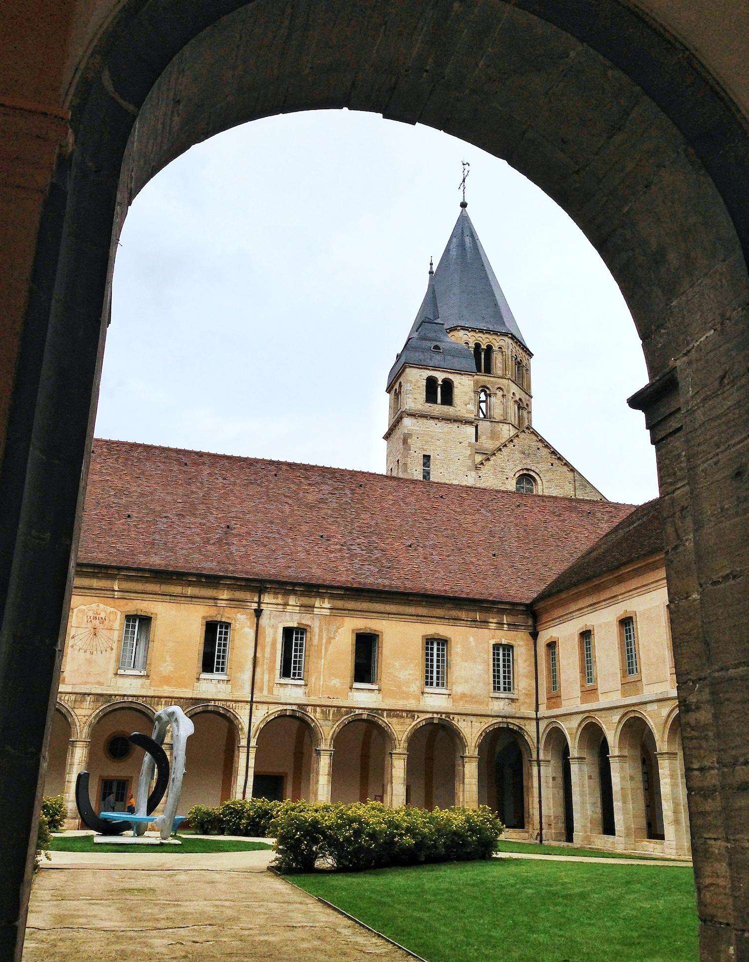 Cluny France courtyard.jpg