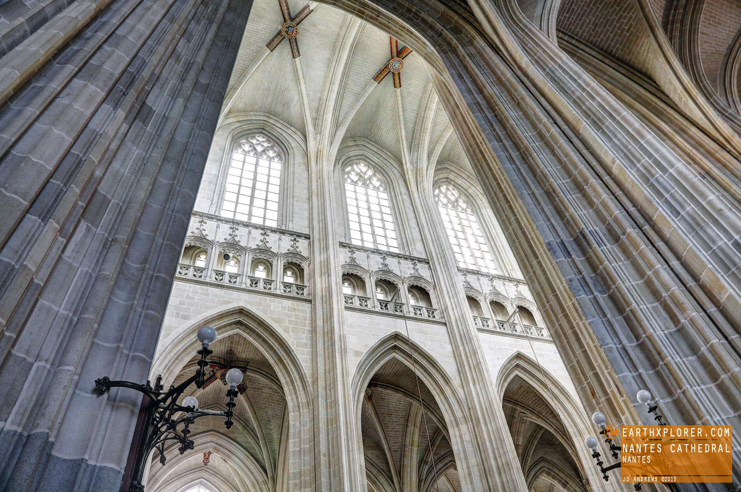 Also known asCathedral of St. Peter and St. Paul inNantes France.