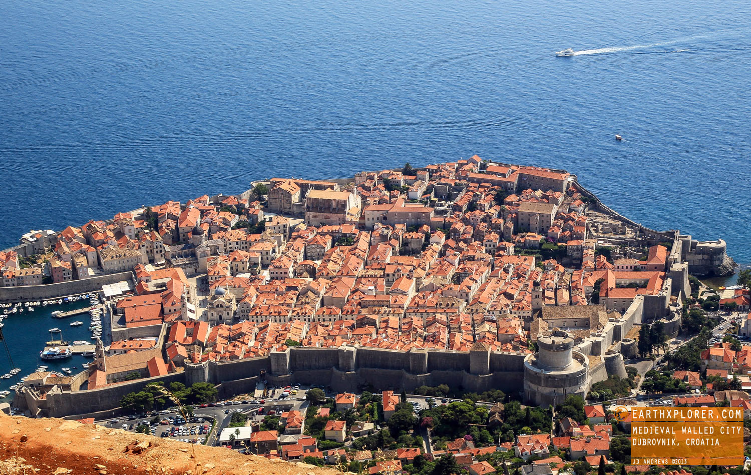 Dubrovnik is among the 10 best medieval walled cities in the world.