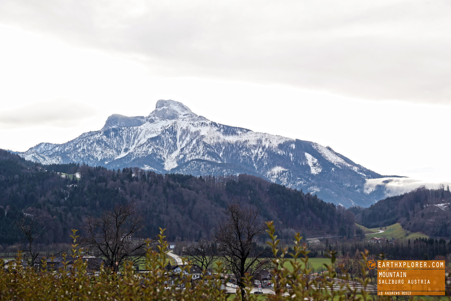 The hills are alive, outside of Salzburg, Austria.
