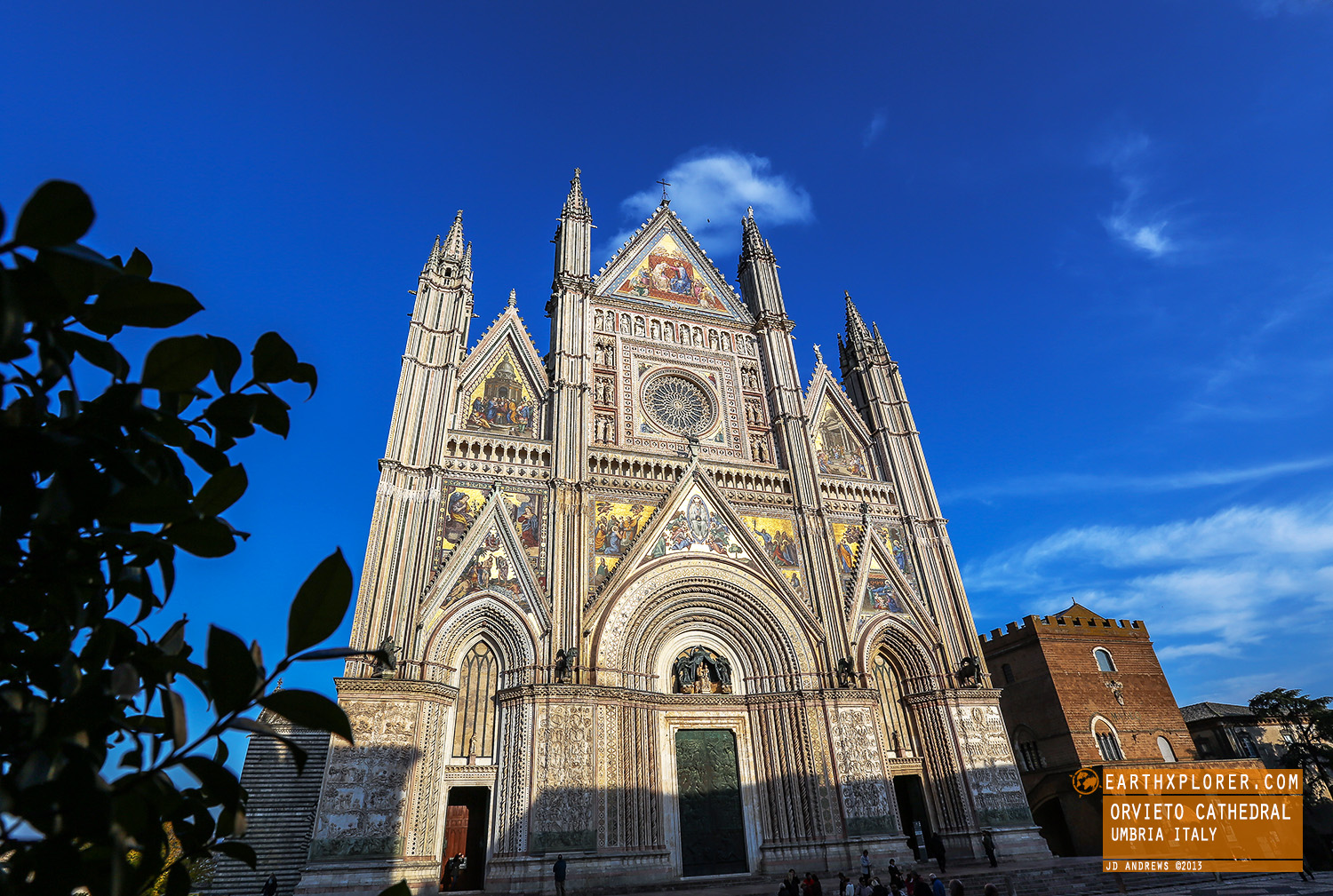 The Gothic facade of the Cathedral is considered one of the great masterpieces of the Late Middle Ages.
