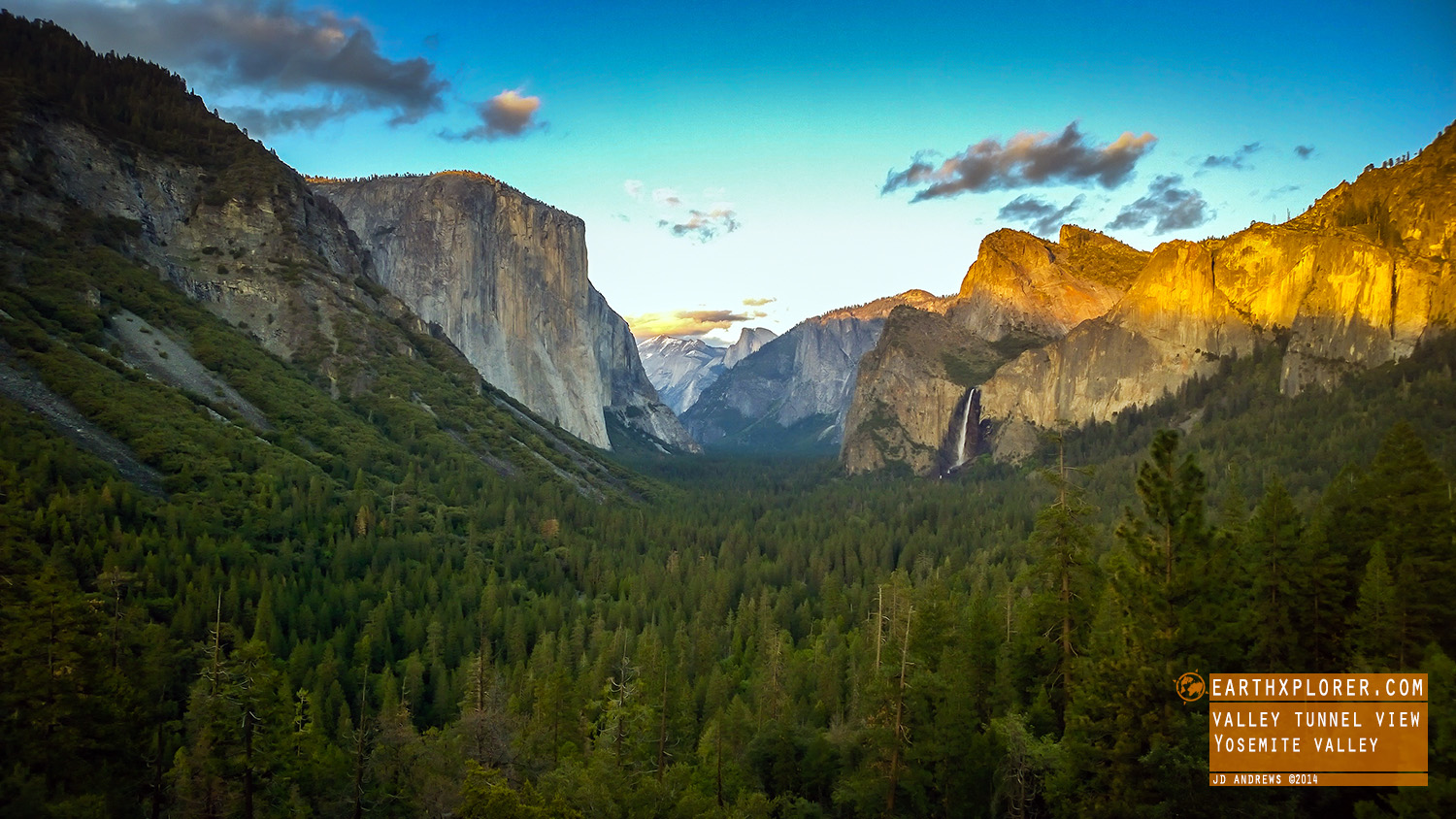 El Capitan, Half Dome and Bridalveil falls - taken with Nokia 1020