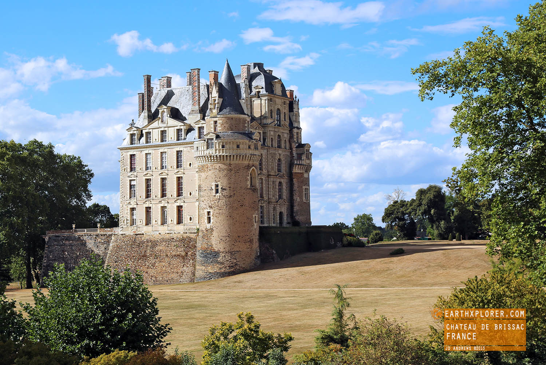 The Château de Brissac is a French château in the commune of Brissac-Quincé, located in Maine-et-Loire, France
