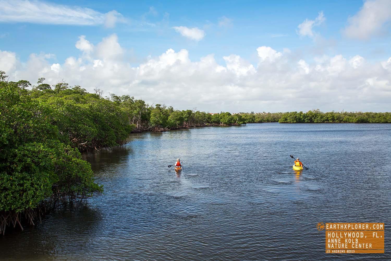 Kayaking Anne Kolb Nature Center Hollywood Florida.jpg